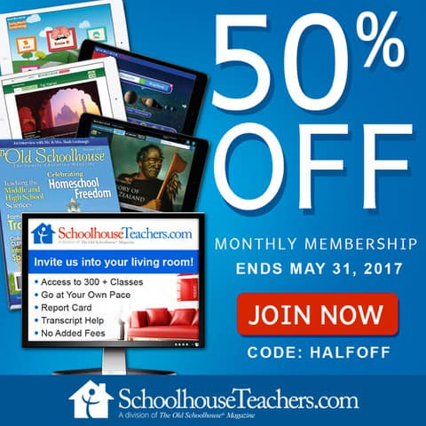 SchoolhouseTeachers Spring Savings