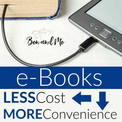 e-Books: Less Cost, More Convenience