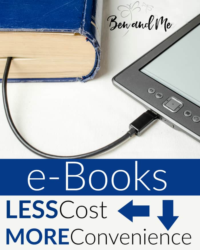 There are some great advantages to buying books and curriculum in electronic form, but the best reasons boil down to two things: money and convenience.