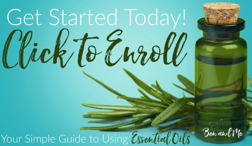 Enroll in the FREE Your Simple Guide to Using Essential Oils eCourse!
