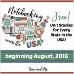 Notebooking Across the USA (States Unit Studies)