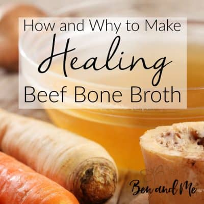 How and Why to Make Healing Beef Bone Broth (Slow Cooker or Instant Pot)
