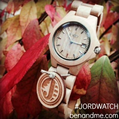 JORD Wood Watch Giveaway + a $20 eGift Card for Everyone!