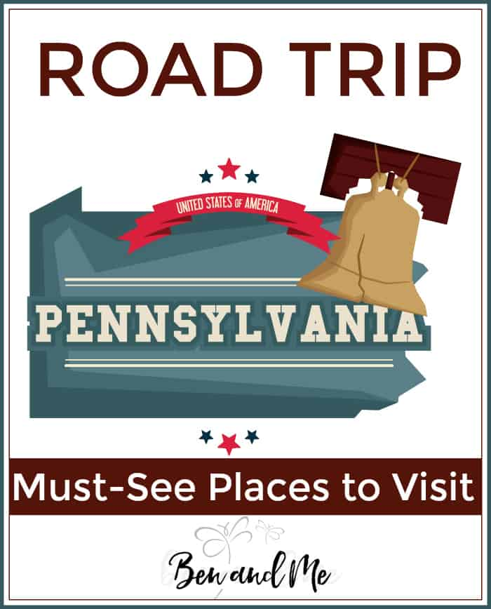 "Will you be visiting Pennslyvania? Or maybe just learning about the ""Keystone State?"" Don't miss this list of must-see places to visit while there (even if you're only there virtually)."