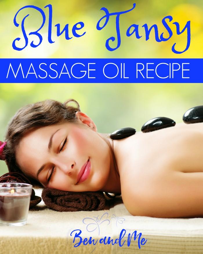 Blue Tansy Massage Oil Recipe