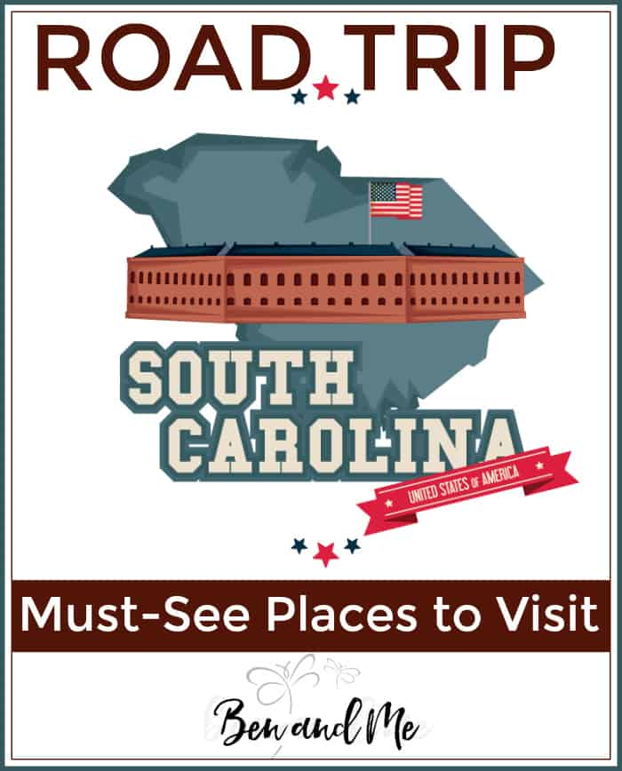 Road Trip South Carolina -- must see places to visit