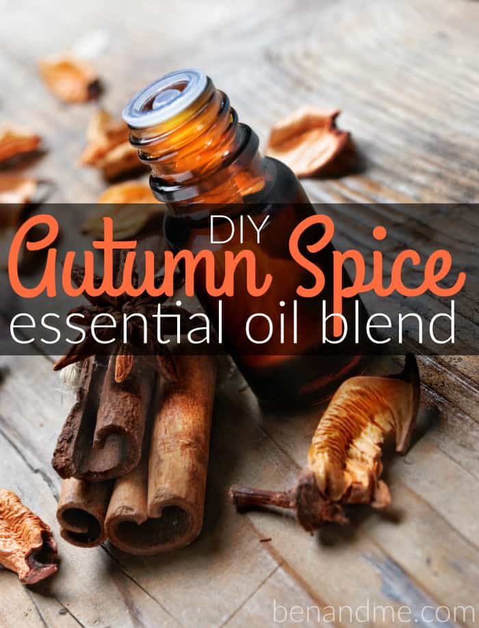 Essential oil with cinnamon and anise seed