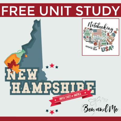 Notebooking Across the USA: New Hampshire