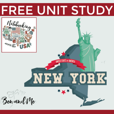 Notebooking Across the USA: New York Unit Study