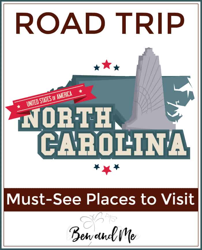 Road Trip North Carolina - must-see places to visit