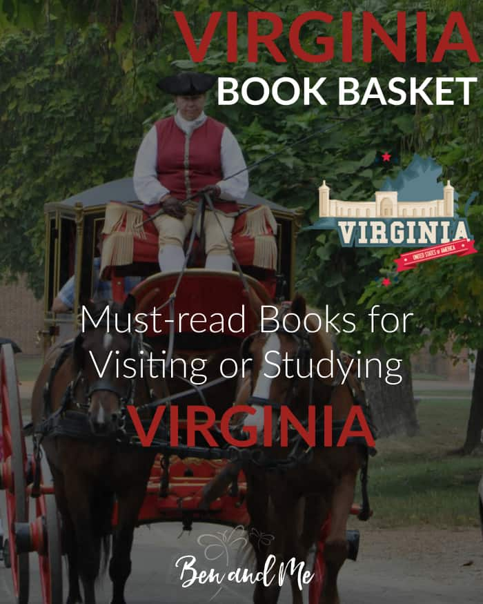 Virginia Book Basket -- must-read books for visiting or studying Virginia.