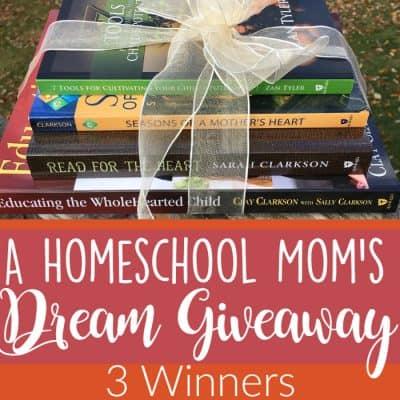 A Homeschool Mom's Dream Giveaway