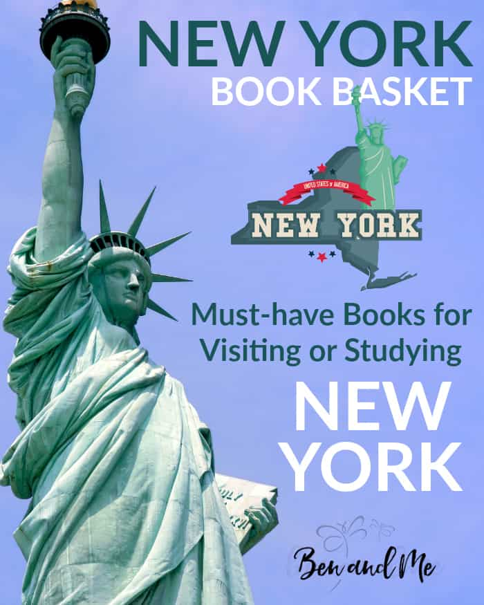 New York Book Basket -- must-have books for visiting or studying New York