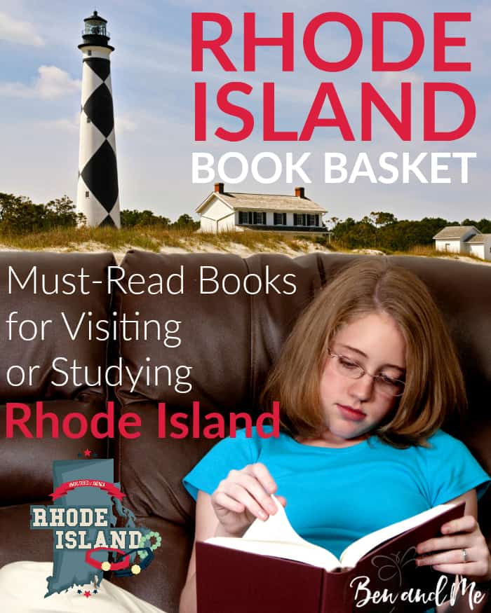 Rhode Island Book Basket -- must-read books for visiting or studying Rhode Island