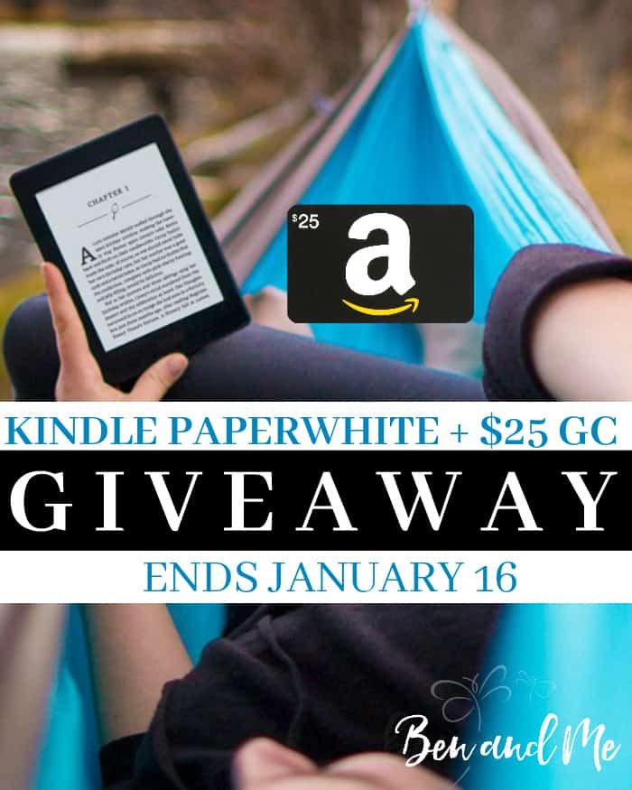 I'm kicking off a 52-week reading challenge for teens with this giveaway for a Kindle Paperwhite + $25 Amazon Gift Card. Enter to win before January 16, 2017!