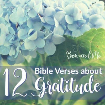 12 Bible Verse about Gratitude (and your Free Printable Grateful Journal 2017)
