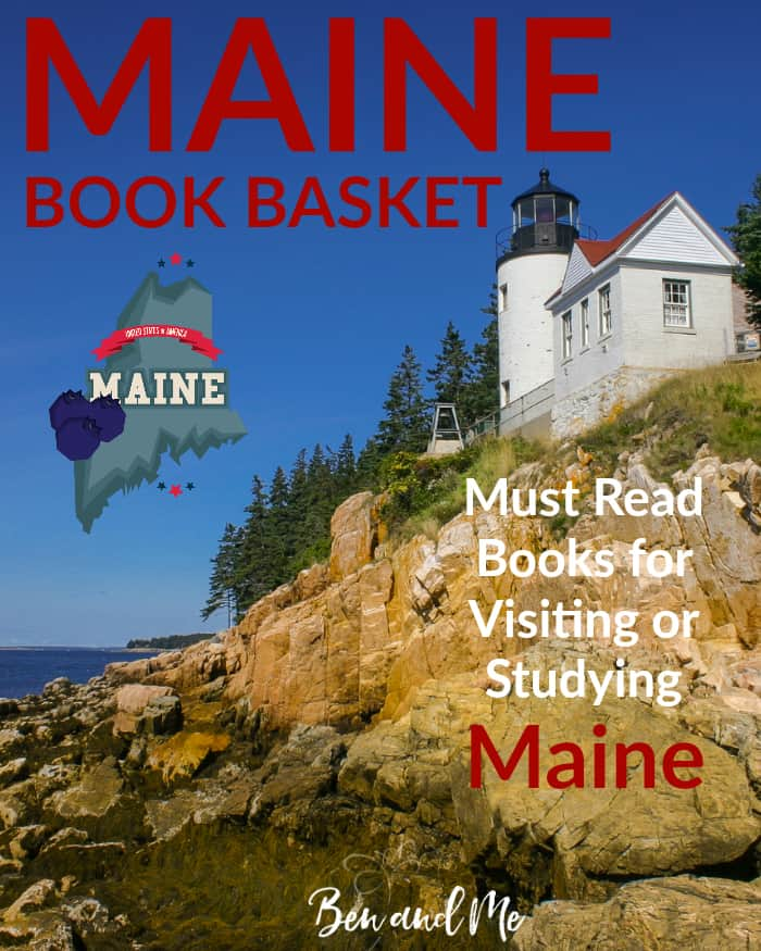 Maine Book Basket -- Must Read Books for Visiting or Studying Maine