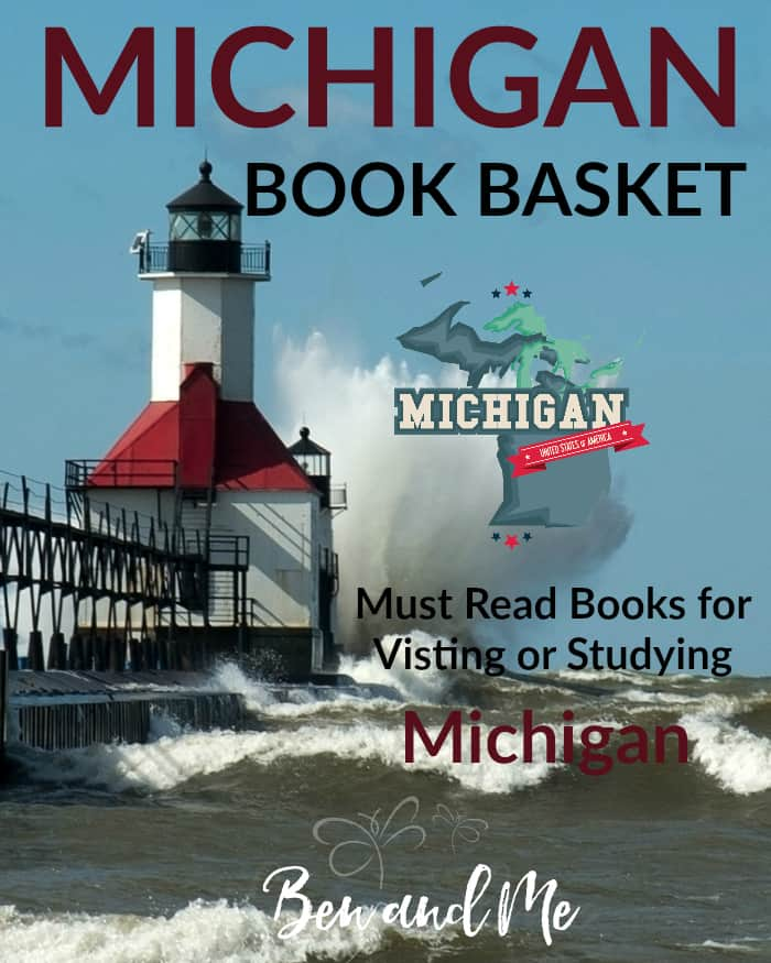 Michigan Book Basket -- must read books for visiting or studying Michigan