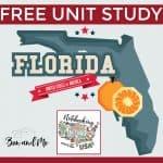 Notebooking Across the USA: Florida Unit Study