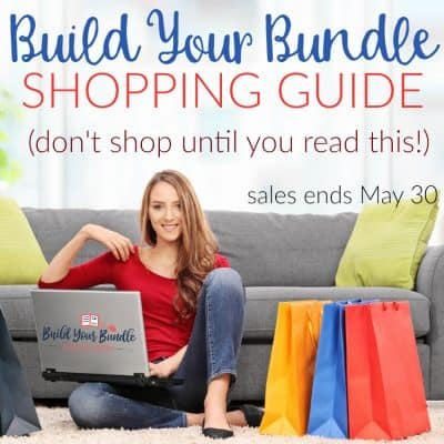 Build Your Bundle Shopping Guide (don't shop until you read this!)