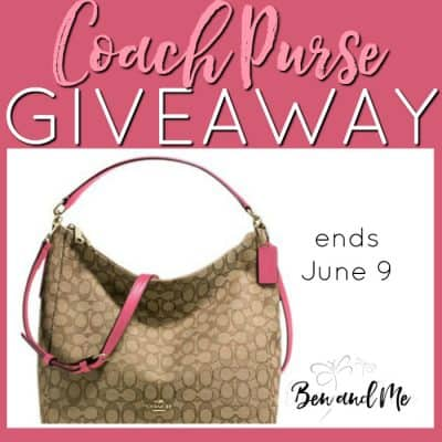Summer Coach Purse Giveaway