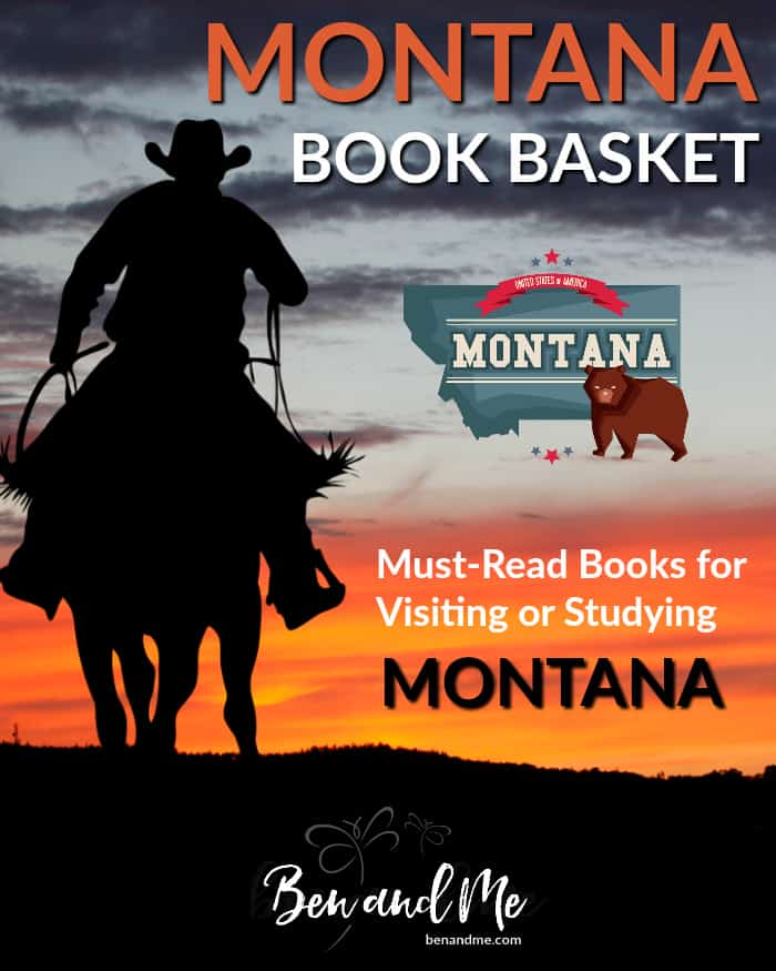 """Montana Book Basket -- must read books for visiting or studying """"The Treasure State."""""""