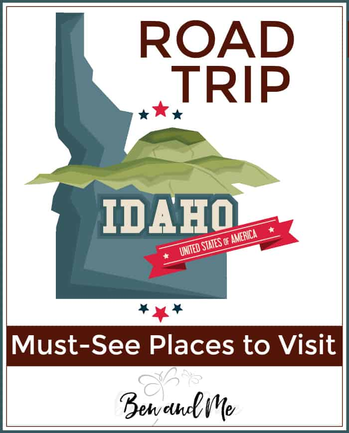 Road Trip Idaho -- must see places to visit in The Gemstone State!
