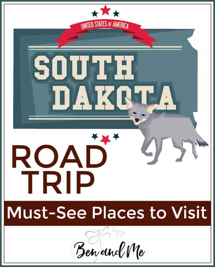Road Trip South Dakota -- must see places to visit in The Mount Rushmore State!