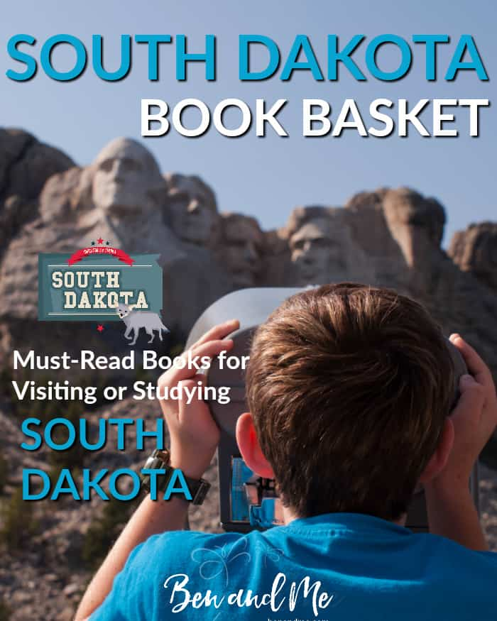 South Dakota Book Basket -- must read books for visiting or studying The Mount Rushmore State!