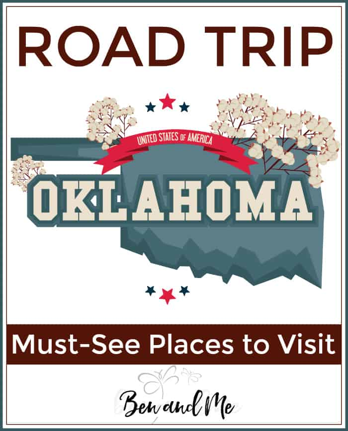 Road Trip Oklahoma -- must see places to visit in The Sooner State!